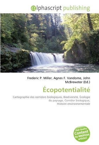 9786130885038: Écopotentialité (French Edition)