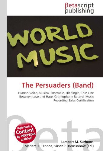 9786131036576: The Persuaders (Band)