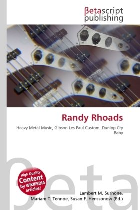 9786131053887: RANDY RHOADS