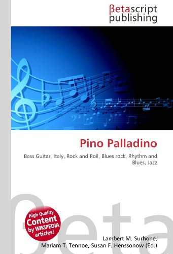 9786131068843: Pino Palladino: Bass Guitar, Italy, Rock and Roll, Blues rock, Rhythm and Blues, Jazz