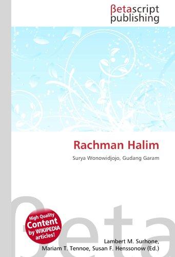 9786131073519: Rachman Halim