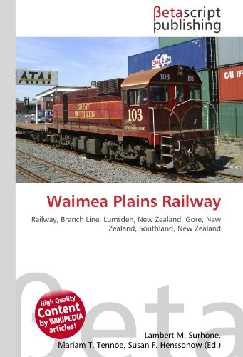 9786131092183: Waimea Plains Railway
