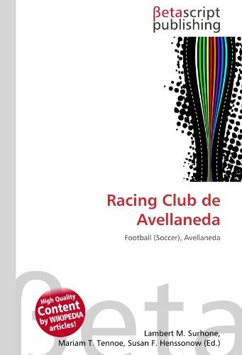 9786131093173: Racing Club de Avellaneda
