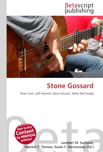 9786131116292: Stone Gossard: Pearl Jam, Jeff Ament, Dave Krusen, Mike McCready
