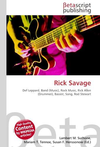 9786131117138: Rick Savage