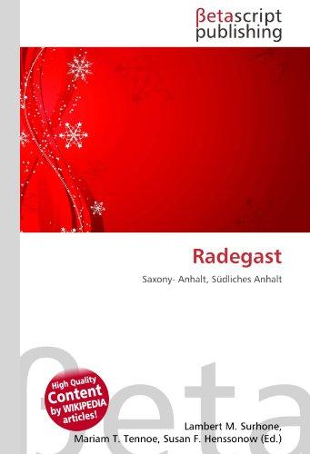 9786131133954: Radegast: Saxony- Anhalt, Südliches Anhalt