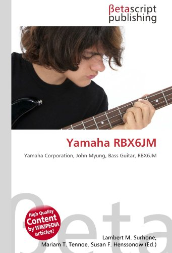 9786131136658: Yamaha Rbx6jm