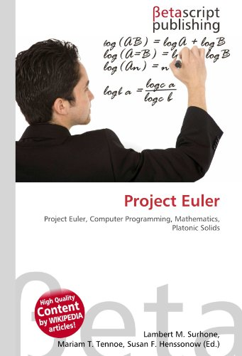 9786131142376: Project Euler: Project Euler, Computer Programming, Mathematics, Platonic Solids