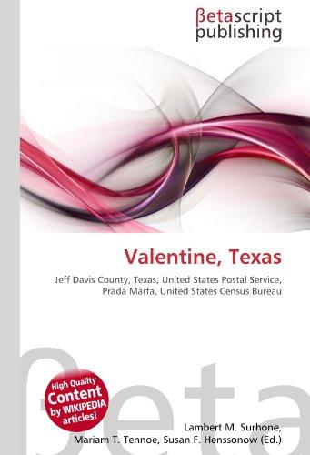 9786131170126: Valentine, Texas
