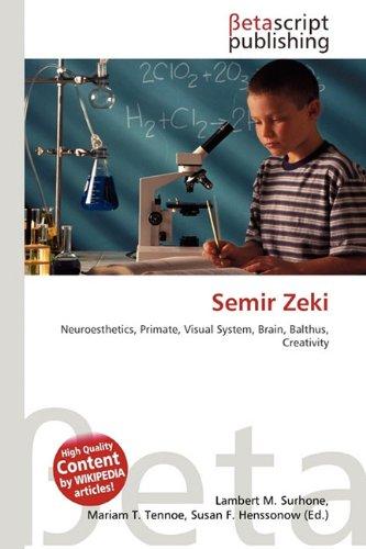 9786131315695: Semir Zeki
