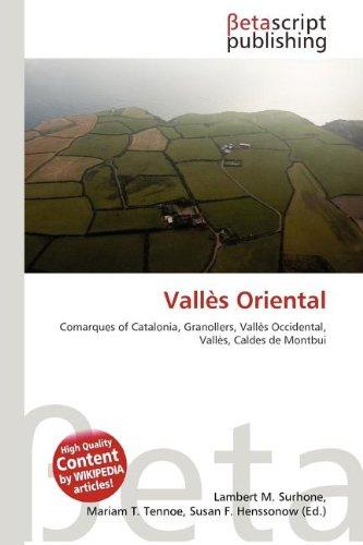 9786131325526: Valles Oriental