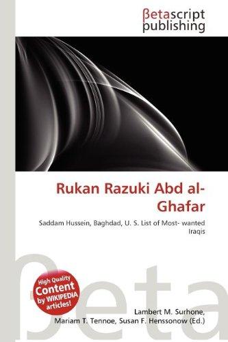 9786131354168: Rukan Razuki Abd Al-Ghafar