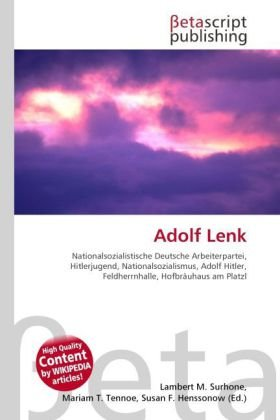 Adolf Lenk: Lambert M. Surhone