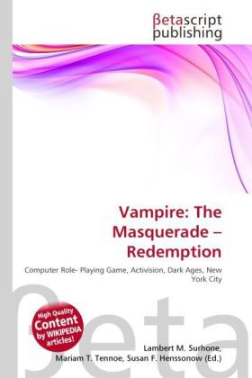 9786131402937: Vampire: The Masquerade - Redemption