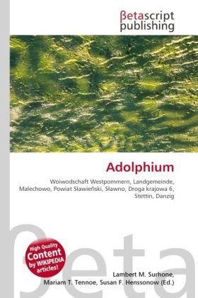 9786131471551: Adolphium