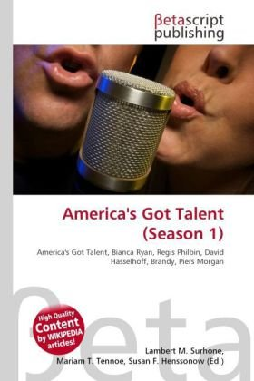 9786131477522: America's Got Talent (Season 1)
