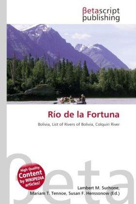 9786131479748: Rio de La Fortuna