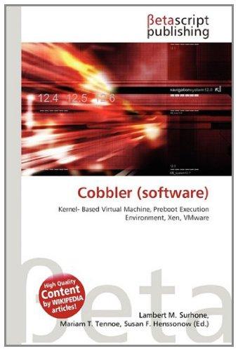 Cobbler (software): Lambert M. Surhone