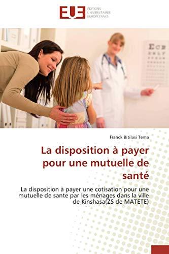 La disposition à payer pour une mutuelle: Franck Bitilasi Tema