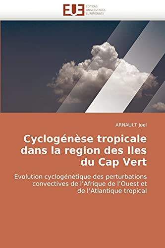 Cyclogenese Tropicale Dans La Region Des Iles Du Cap Vert: ARNAULT Joel