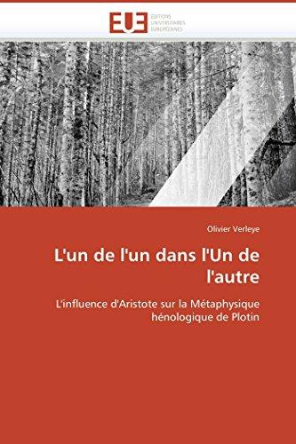 LUn de LUn Dans LUn de LAutre: Olivier Verleye