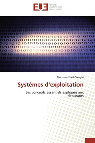 Systemes DExploitation: Mohamed Said Ouerghi