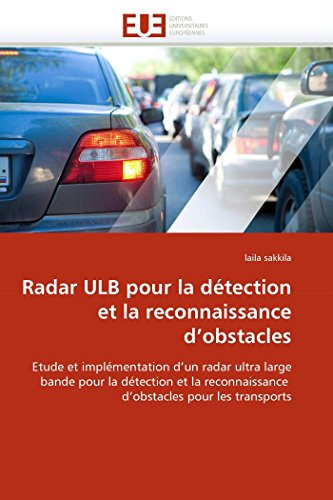 9786131520204: Radar ulb pour la détection et la reconnaissance d''obstacles