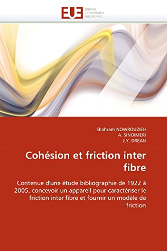 Coh sion Et Friction Inter Fibre (Paperback): Collectif
