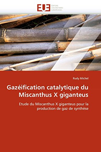 9786131524646: Gazéification catalytique du Miscanthus X giganteus: Etude du Miscanthus X giganteus pour la production de gaz de synthèse (Omn.Univ.Europ.) (French Edition)