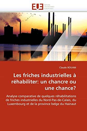 Les Friches Industrielles À Réhabiliter: Un Chancre Ou Une Chance? - Rouam-C