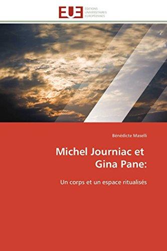Michel Journiac Et Gina Pane (Paperback): Bénédicte Maselli