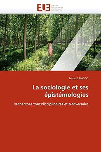 La Sociologie Et Ses Epistemologies: Sekou SANOGO