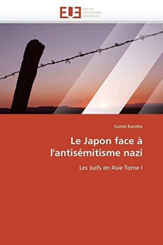 Le Japon Face A LAntisemitisme Nazi: Sumie Kaneko