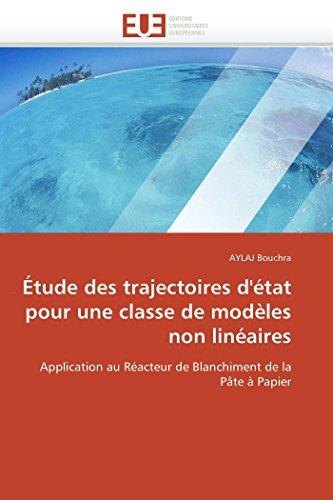 Etude Des Trajectoires DEtat Pour Une Classe de Modeles Non Lineaires: AYLAJ Bouchra