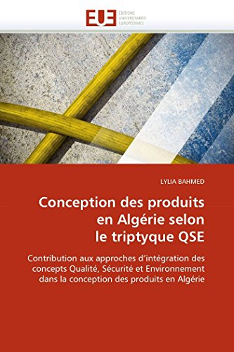 Conception des produits en algérie selon le: LYLIA BAHMED