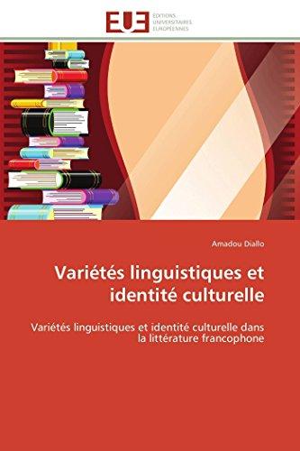 Variétés linguistiques et identité culturelle: Amadou Diallo