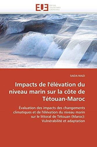 Impacts de LElevation Du Niveau Marin Sur La Cote de Tetouan-Maroc: SAIDA NIAZI