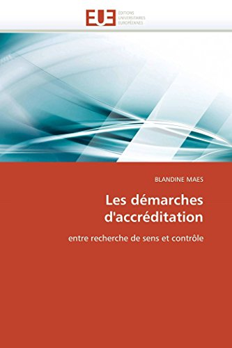 Les Demarches DAccreditation: BLANDINE MAES