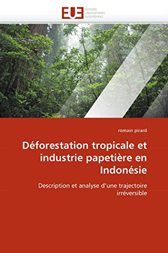 Deforestation Tropicale Et Industrie Papetiere En Indonesie: Pirard-R
