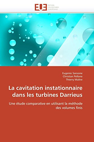 9786131557002: La cavitation instationnaire dans les turbines darrieus