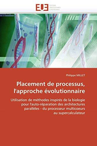 Placement de processus, lapos;approche volutionnaire: MILLET, Philippe