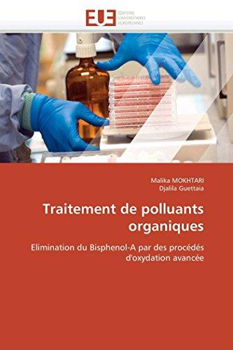 Traitement de Polluants Organiques: Malika MOKHTARI