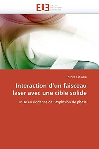 Interaction D Un Faisceau Laser Avec Une: Kenza Yahiaoui