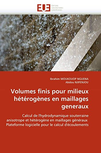 Volumes Finis Pour Milieux Heterogenes En Maillages Generaux: Ibrahim MOUKOUOP NGUENA