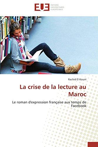 La Crise de La Lecture Au Maroc: El Kourri Rachid