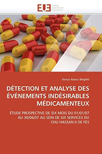 Detection Et Analyse Des Evenements Indesirables Medicamenteux: Kenza Alaoui Belghiti