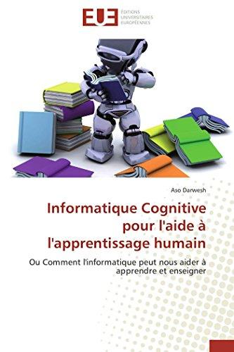 Informatique Cognitive Pour LAide A LApprentissage Humain: Aso DARWESH