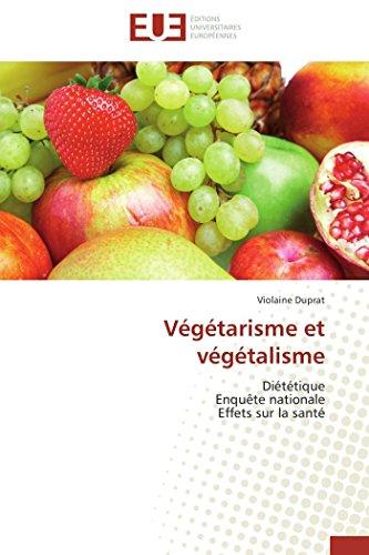 Vegetarisme Et Vegetalisme: Violaine DUPRAT