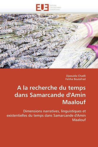 a la Recherche Du Temps Dans Samarcande: Djaouida Chadli (author)