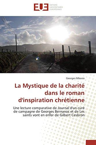 La Mystique de La Charite Dans Le Roman DInspiration Chretienne: Georges MBORRO